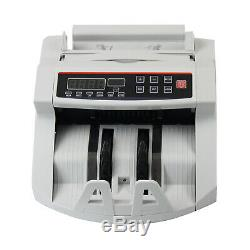 110V Money Bill Currency Counter Counting Machine UV/MG Counterfeit Detector