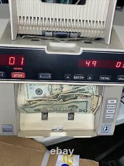 AS IS Brandt De La Rue 8643 Bill Currency Cash Counter Needs Work