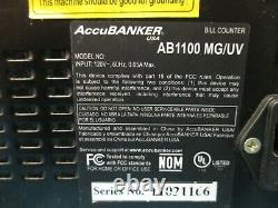 AccuBanker AB1100 Business Commercial Digital Money Bill Counter Currency