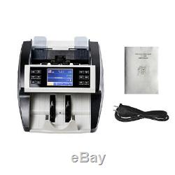 Aibecy Multi-Currency Cash Banknote Money Bill Automatic Counter Counting