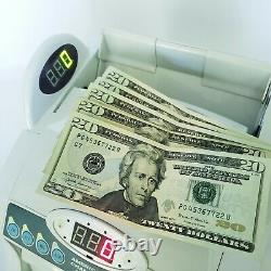 American Changer BC101 Bill Money Currency Counter ANTI Counterfeit Measures