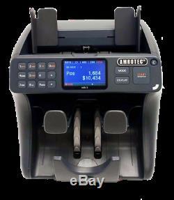Amrotec Mib- 9 Currency Discriminator Counter Mixed bill counter