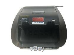 Amrotec X-1000 Currency Discriminator Counterfeit Mixed bill Money Speed Counter