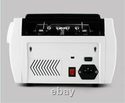Automatic Money Bill Currency Counter UV MG IR LCD Counterfeit Detector Counting