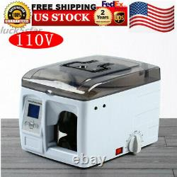 Automatic Money Bundle Machine Cash Money Currency Strapping Machine 110V