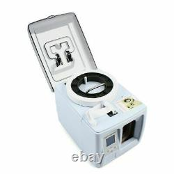 Automatic Money Bundle Machine Currency Strapping Binding Tool Bank Cash Packer