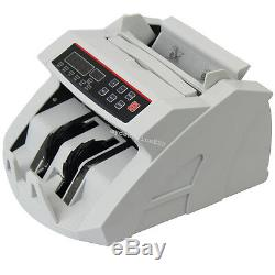 Automatic Money Cash Counter Currency Counting Machin UV MG Counterfeit Detector
