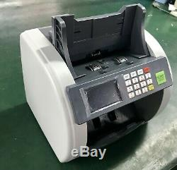 Bank Grade Mixed Denomination Bill Counter Cash Currency Machine, SEE VIDEO
