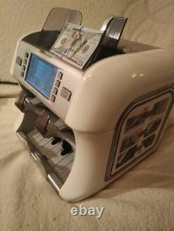 Banknote counter Kisan Newton F currency sorter with counterfeit detection