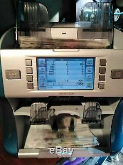Banknote counter Kisan Newton FS(P) currency sorter with counterfeit detection