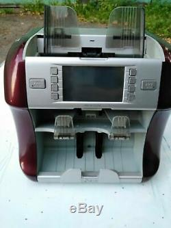 Banknote counter Kisan Newton V currency sorter with counterfeit detection