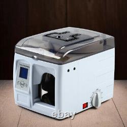 Bundle Machine Currency Automatic Bank Cash Money Strap Binding Banding Packer