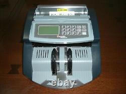 CASSIDA 5520 CURRENCY MONEY COUNTER withUV+ MG CONTERFEIT BILL DETECTION PRE-OWNED