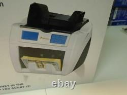 Carnation CR2 Bank Grade Currency Counter Triple Counterfeit Detection UV MG IR