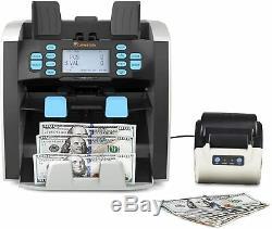 Carnation Mixed Denomination Value Currency Bill, Money Counter MG, IR, MT, UV