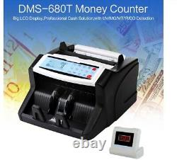 Cash Currency Multi Money Shop Counter Business Fraud Note Bill Detector Machine