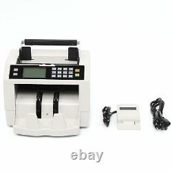 Cash Money Bill Counter Machine Bank Automatic Currency Couting Machine Checker