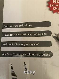 Cassida 5520 UV/MG Currency Counter #5520UVMG