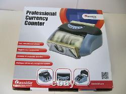 Cassida Tiger Professional Bill Currency Counter with UV Counterfeit Detection