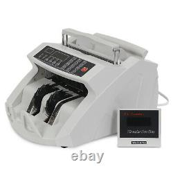 Commercial Bill Counter Money Machine Counterfeit Currency Cash Count Detector