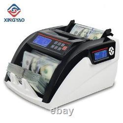 Counter Machine Cash Money Counting Compteuse De Billets Multi-Currencies