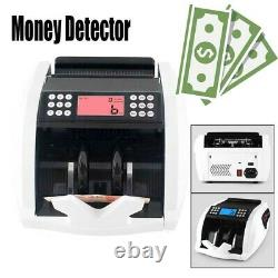 Counterfeit Money Detector Automatic Currency Counter IR UV Checker Dollar Bill