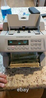 Cummins Allision JetCount Model 4020 Cash Bill Money Currency Counter