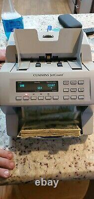 Cummins Allision JetCount Model 4020 Cash Bill Money Currency Counter