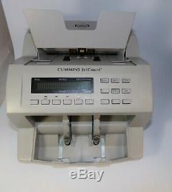 Cummins Allison Corp JetCount 4020 Currency Bill Cash Counter Great Condition