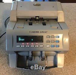 Cummins Allison JetScan 4062 Currency Note Bill Cash Counter 406-9902-00