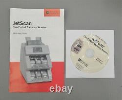 Cummins Allison JetScan 4096ES 2-Pocket Currency Counter & Scanner