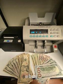 Cummins Allison JetScan Currency Counter 4062 + PRINTER Refurbished
