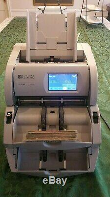 Cummins Allison JetScan iFX i205 Mixed money bill currency counter New $100 bill
