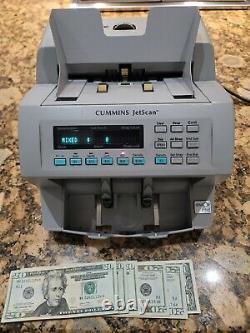 Cummins Allison Jetscan 4062 Cash Counter Money Bill Currency JUST REFURBISHED