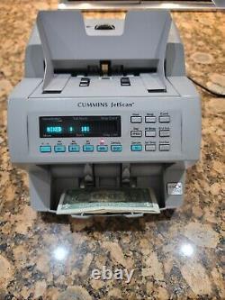 Cummins Allison Jetscan 4065 Cash Counter Money Bill Currency JUST REFURBISHED