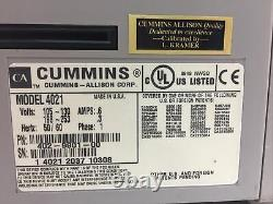 Cummins JetCount 4021 Currency Bill Counter FOR PARTS/NOT WORKING