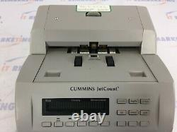 Cummins JetCount 4021 Currency Bill Counter (P/N406-9901-00) Tested