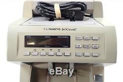 Cummins JetCount 4022 Currency Cash Bill Note Counter 402-9902-00