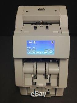 Cummins JetScan 2-Pocket Currency Counter 4096 Fully Refurbished