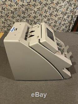 Cummins JetScan 2-Pocket Currency Counter 4098 As-Is Free Ship