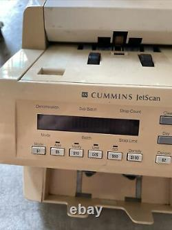 Cummins JetScan 4062 Currency Bill Note Counter 406-9703-00