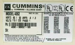 Cummins JetScan 4062 Currency Bill Note Counter 406-9902-00 withWarranty