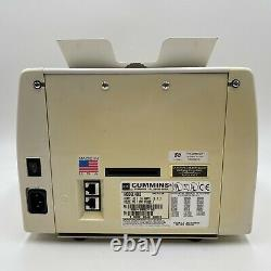 Cummins JetScan 4062 Currency Counter 406-9902-00 Fully Functional Tested