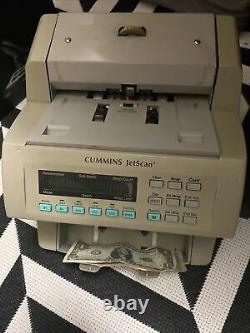 Cummins JetScan 4062 Currency Money Bill Counter 406-9702-00 READ DESCRIPTION