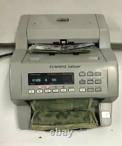 Cummins JetScan 4062 Currency Money Bill Counter Reads new $100 bills