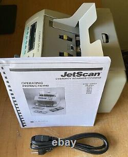 Cummins JetScan 4062 Money Bill Currency Counter Reads The New $100 Bills