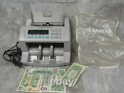 Cummins JetScan 4068 Currency Bill Scanner Cash Counter 406-9908-00 with Cover