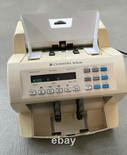 Cummins JetScan 4068 Currency Note Bill Scanner Cash Counter 406-9908-00