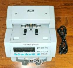 Cummins JetScan 4068 Currency Note Bill Scanner Cash Counter 406-9908-97