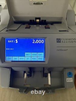 Cummins JetScan Currency Counter 4062ES Fully Renewed90 Days Warranty